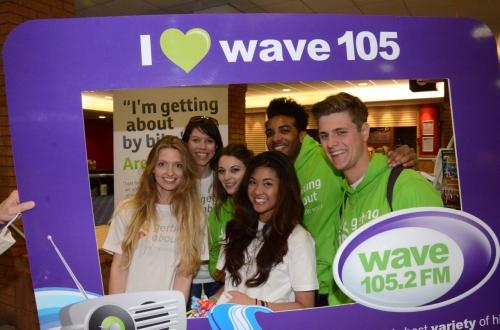 Wave FM Promo Staff
