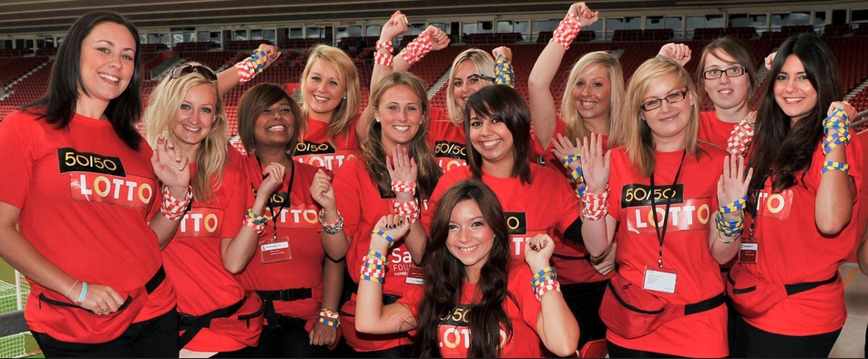 Lotto Promotional Staff