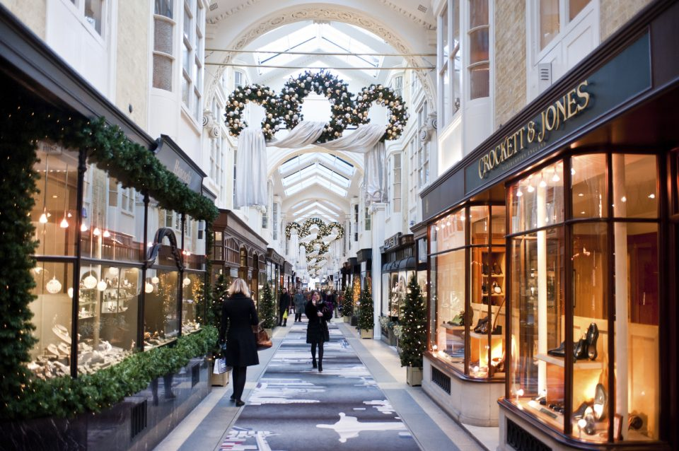 The Burlington Arcade in London