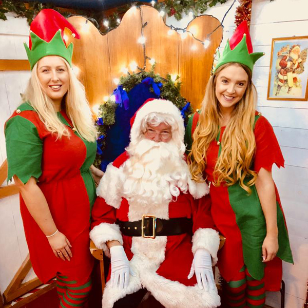 Christmas Grotto promotional staff in Southampton